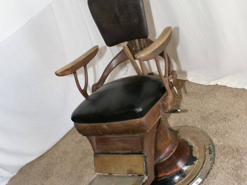 antique dentist chairs chair covers and sashes wedding post ww1 ritter dental