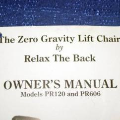 Relax The Back Mobility Lift Chair Best Posture Desk Zero Gravity By Model Pr120