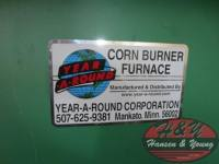 Year-A-Round Corn Burner Furnace
