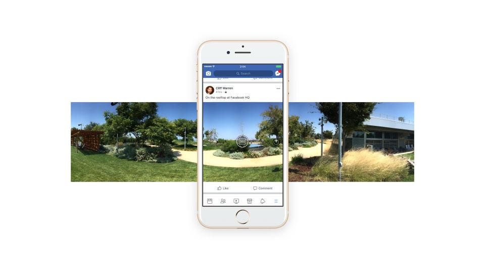 Facebook 360 panorama foto
