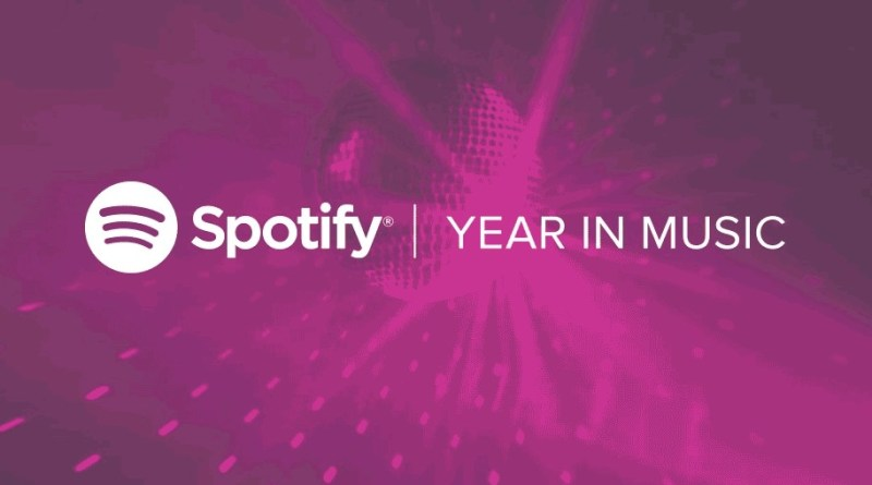 Spotify – Year in Music 2016