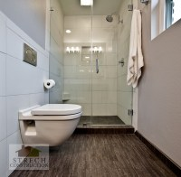 Bathroom Remodel Modern | Strech Construction - Remodel ...