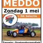 Raamposter Autocross Meddo 2016