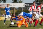 DSVD 1 - Grol 1 1e competitie wedstrijd 3-4-1