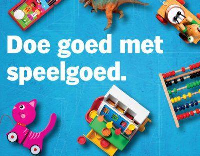 Speelgoedinzameling bij Albert Heijn