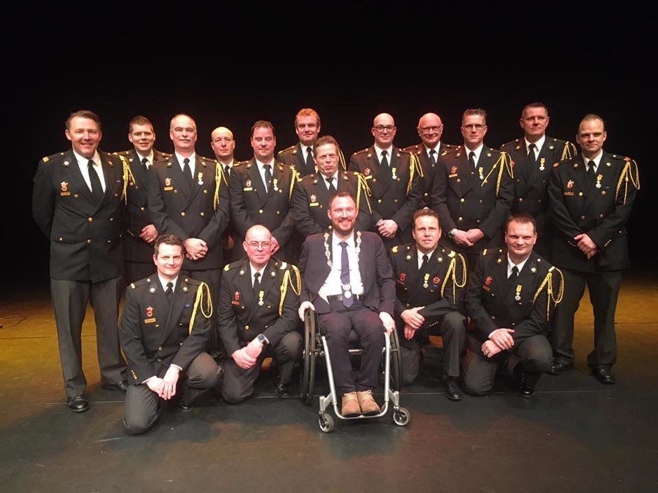 Waardering voor brandweervrijwilligers