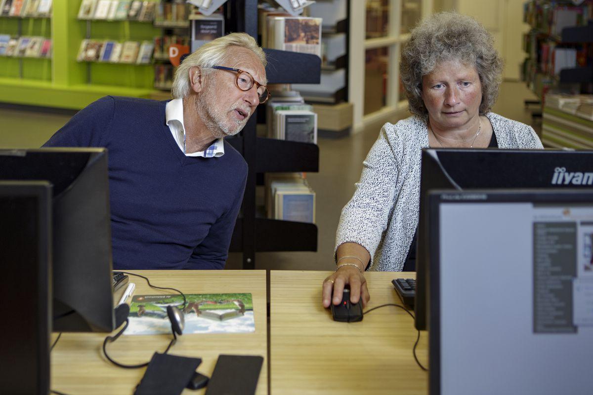 Bieb biedt hulp bij het digitaler worden