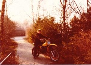 Mijn eerste echte crossmotor
