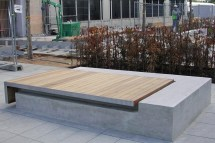 White City Media Centre - Planters And Seating