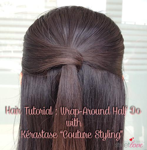 Hair Tutorial Kerastase Couture Styling 1