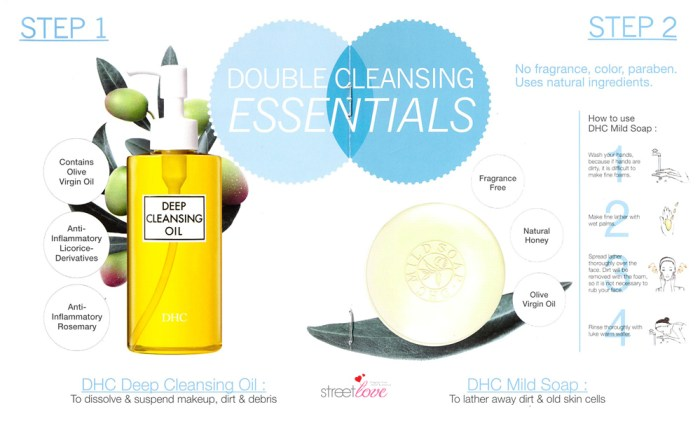 DHC Double Cleansing Essentials Booklet 3