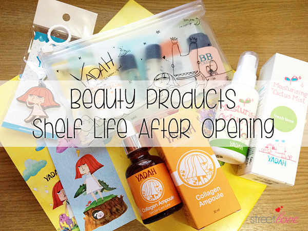 Beauty Products Shelf Life After Opening