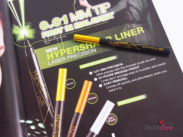 Maybelline HyperSharp Liner Laser Precision Intense Black
