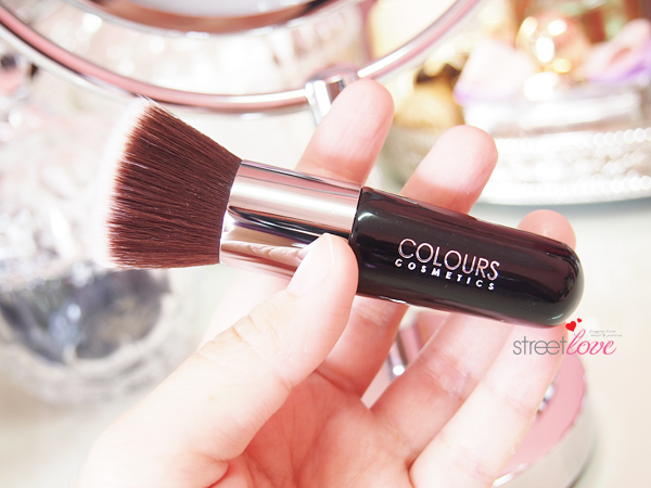 Colours Cosmetics Malaysia Flat Top Foundation Brush Size