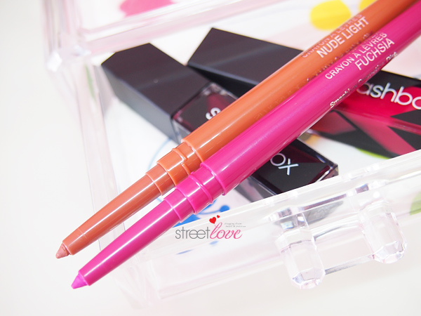 Smashbox Always Sharp Lip Liner Fuchsia and Nude Light