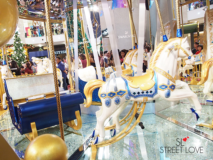 World's First Swarovski Crystallised Merry Go Round at Pavilion KL 3