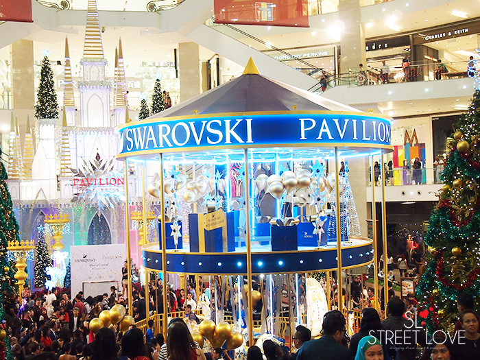World's First Swarovski Crystallised Merry Go Round at Pavilion KL 6