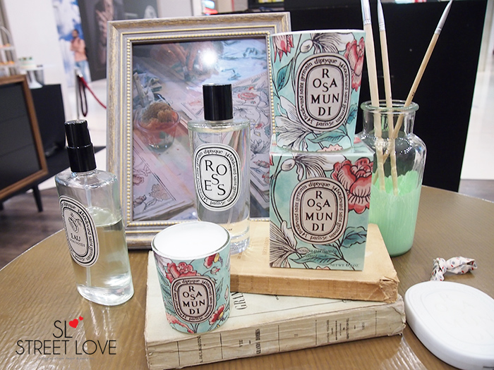 Diptyque Rosa Mundi Collection 1