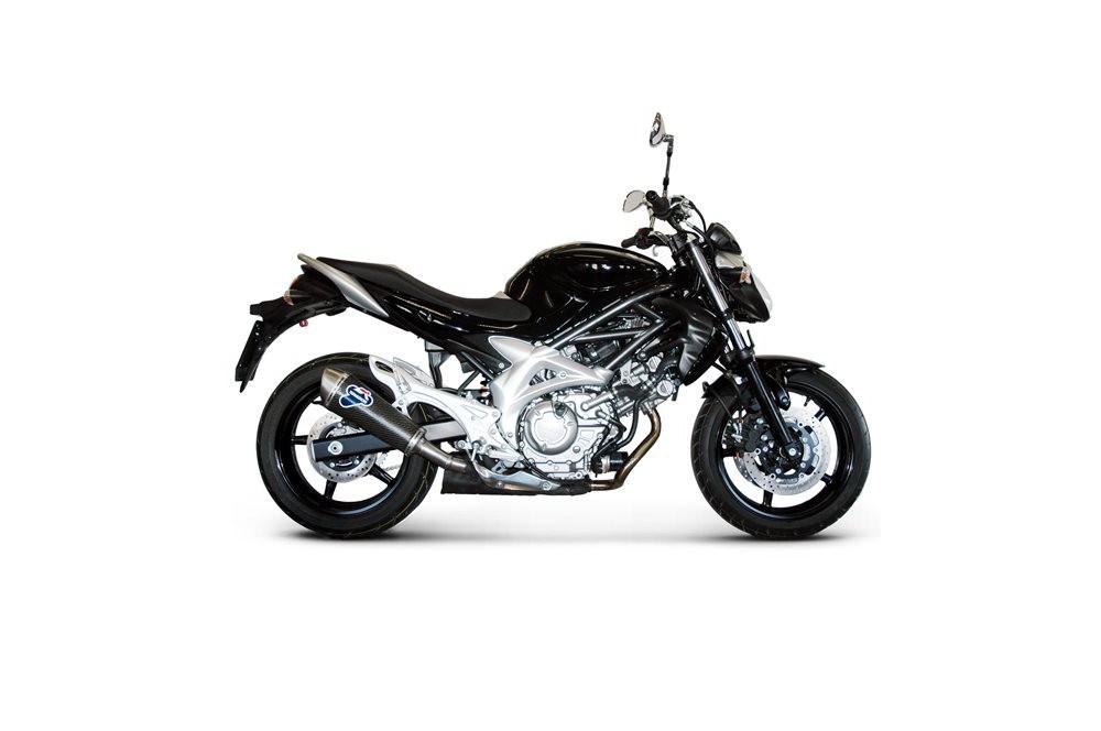 Silencieux Termignoni Ovale inox pour Suzuki Gladius (09