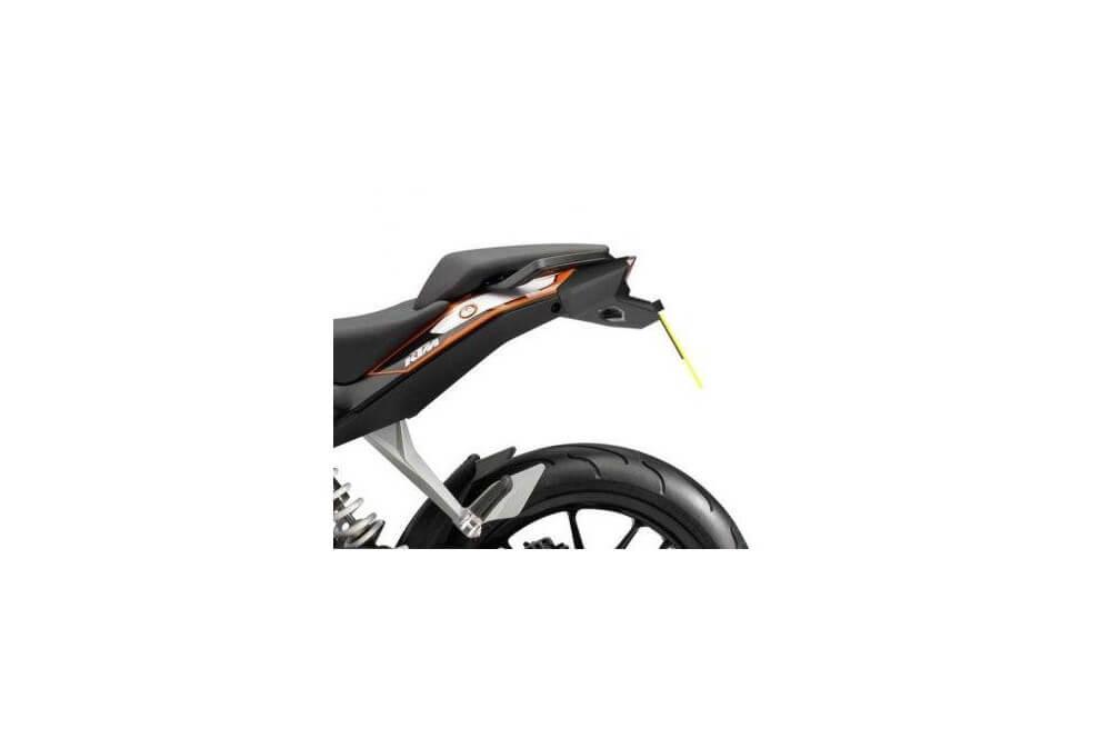 Support de plaque Moto R&G pour KTM Duke 125, 200 et 390