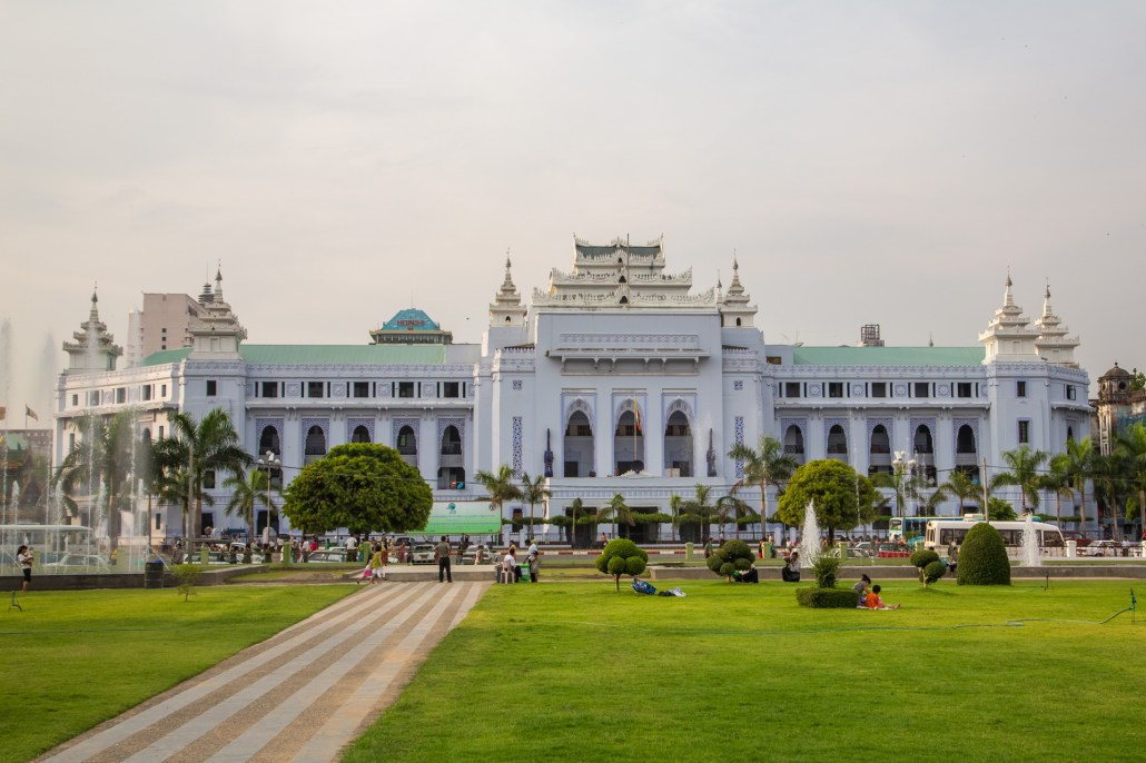 yangon city hall