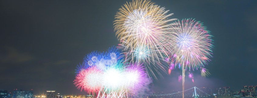 東京湾華火大会/Tokyo Bay Fireworks Hanabi Festival