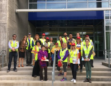 Street Plans leads Walk Audit for National Walking Day