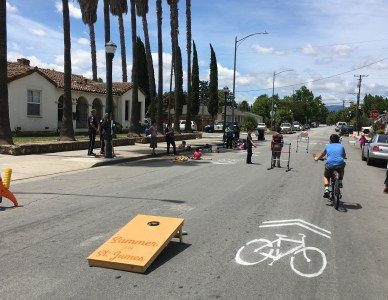 Street Plans completes Bike Month demonstration project in San Jose