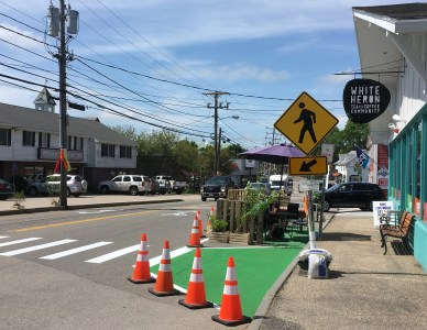 Street Plans Leads Demonstration Project in Portsmouth, NH