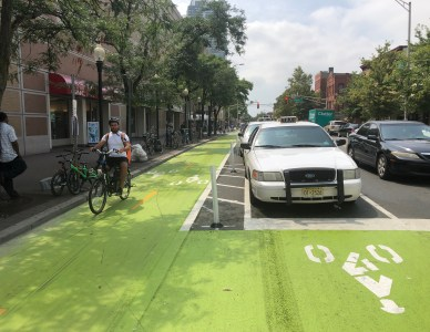 Street Plans Selected to Lead Jersey City Bicycle Master Plan