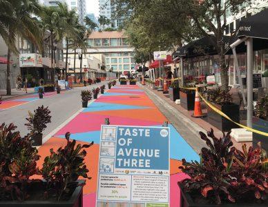 Avenue 3 Miami Quick-Build Activation