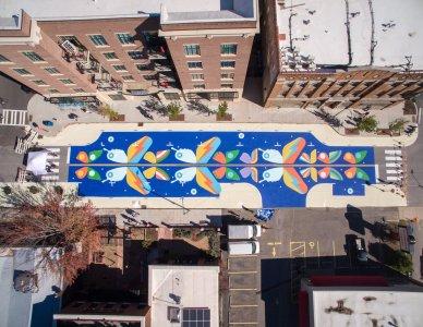Bloomberg Philanthropies Picks 26 Cities for Asphalt Art Initiative Grant Program