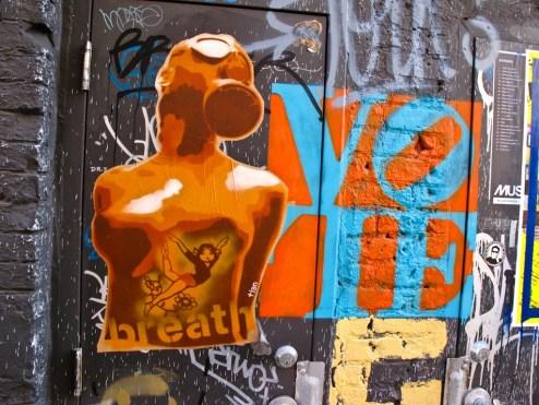 street art Tian in nyc