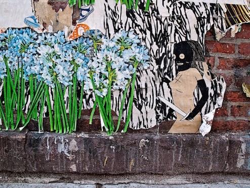 kid acne street art in NYC