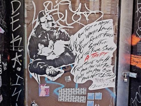 Dwight D Eisenhower Street art