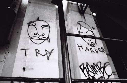 street art by try harder in NYC