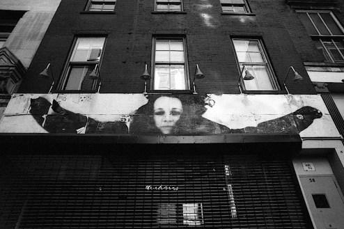 arms wide open street art