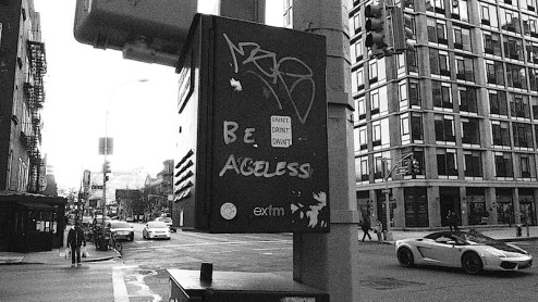 be ageless graffiti found in nyc