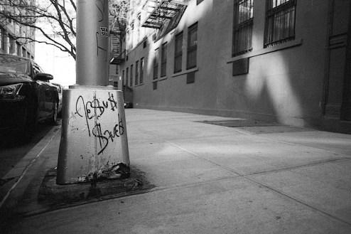 jesus saves graffiti photo shot in nyc