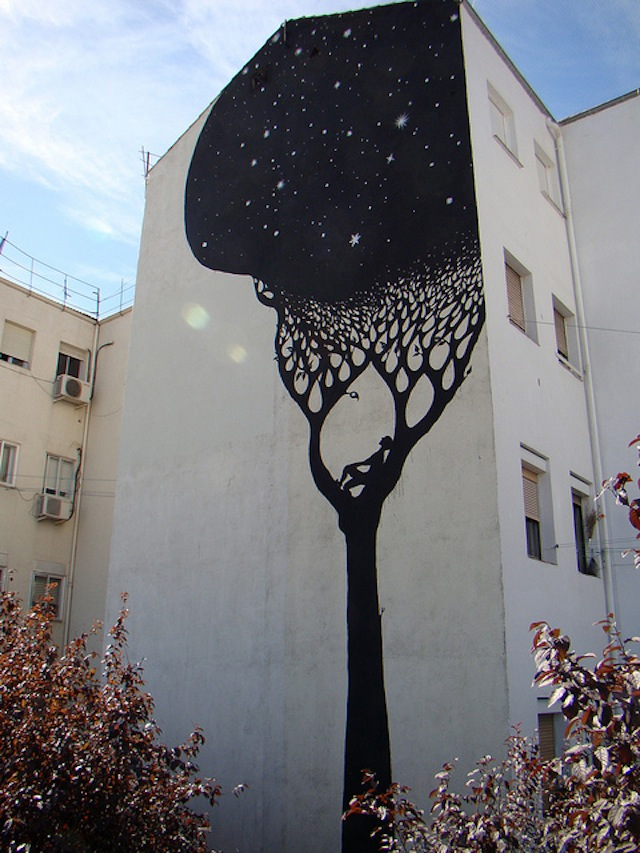 "Top Rated Street Art – ""Perfect; fits beautifully into the surroundings. Way to make something magical :)"""