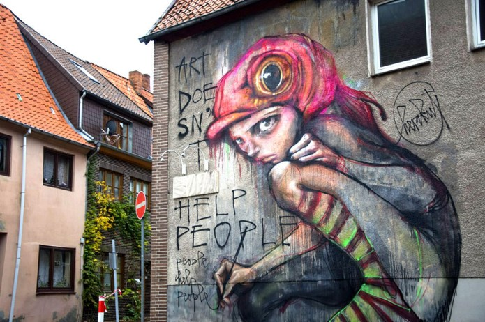 Street Art by Herakut – A Collection part 1