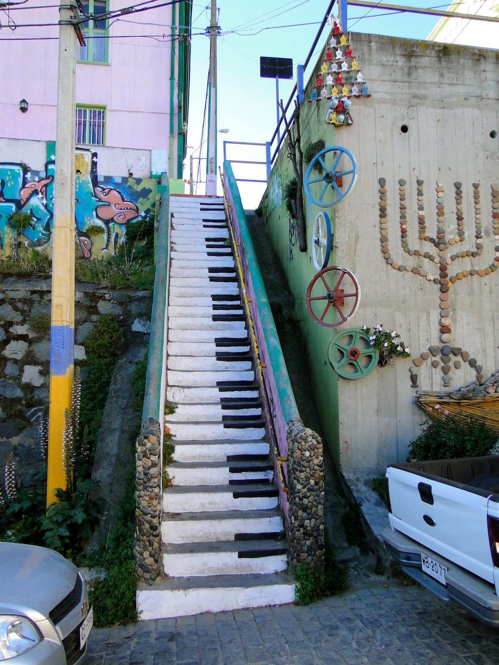 Street Art in Valparaiso, Chile