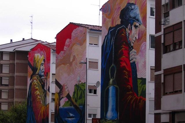 Street Art in Santoña, Spain