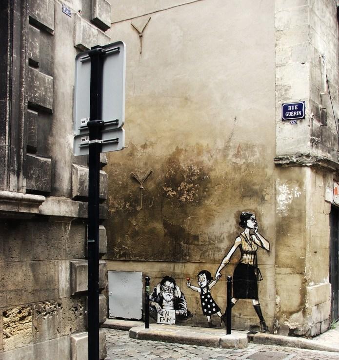 Street Art in Bordeaux, France