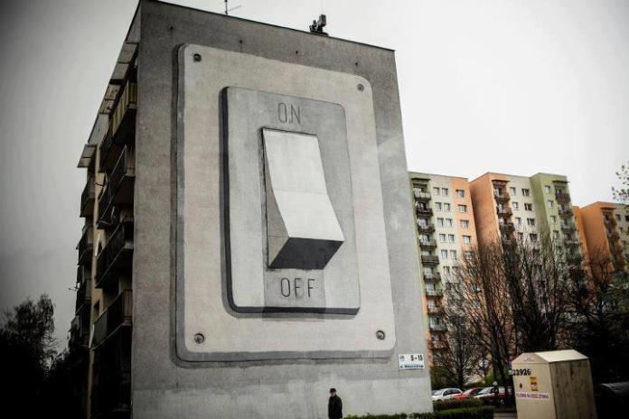 Street Art by Escif in Poland