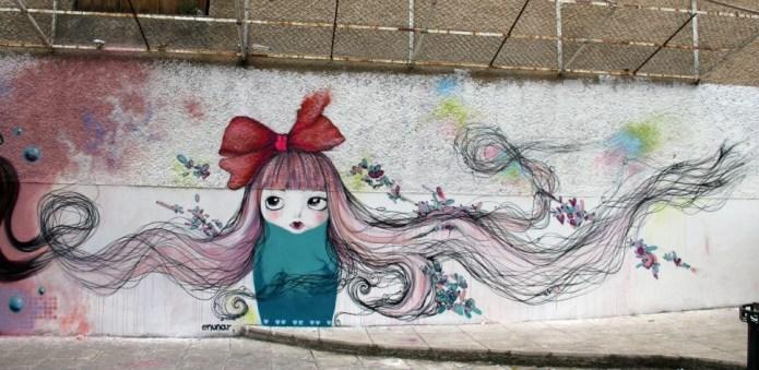 Street Art by Mora – In Athen, Greece