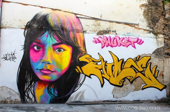 By NOE TWO – Graffiti artist from Paris, France