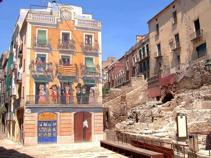 Street Art in Tarragona, Spain