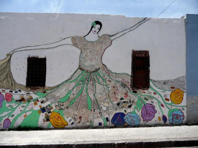 Street Art in Puebla, México