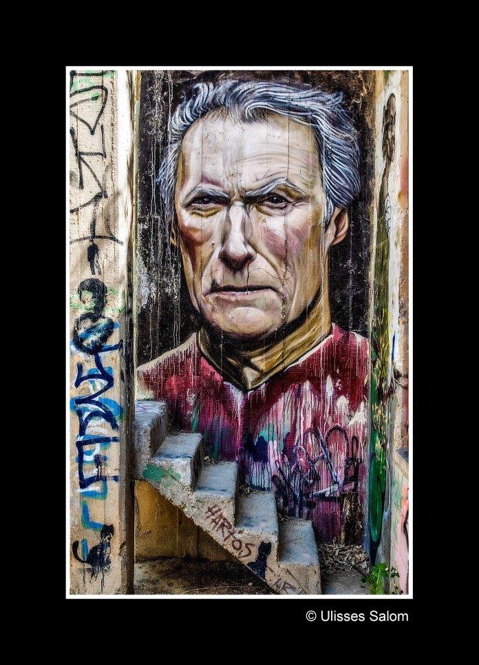 Street Art of Clean Eastwood, in Sant Just Desvern, Barcelona